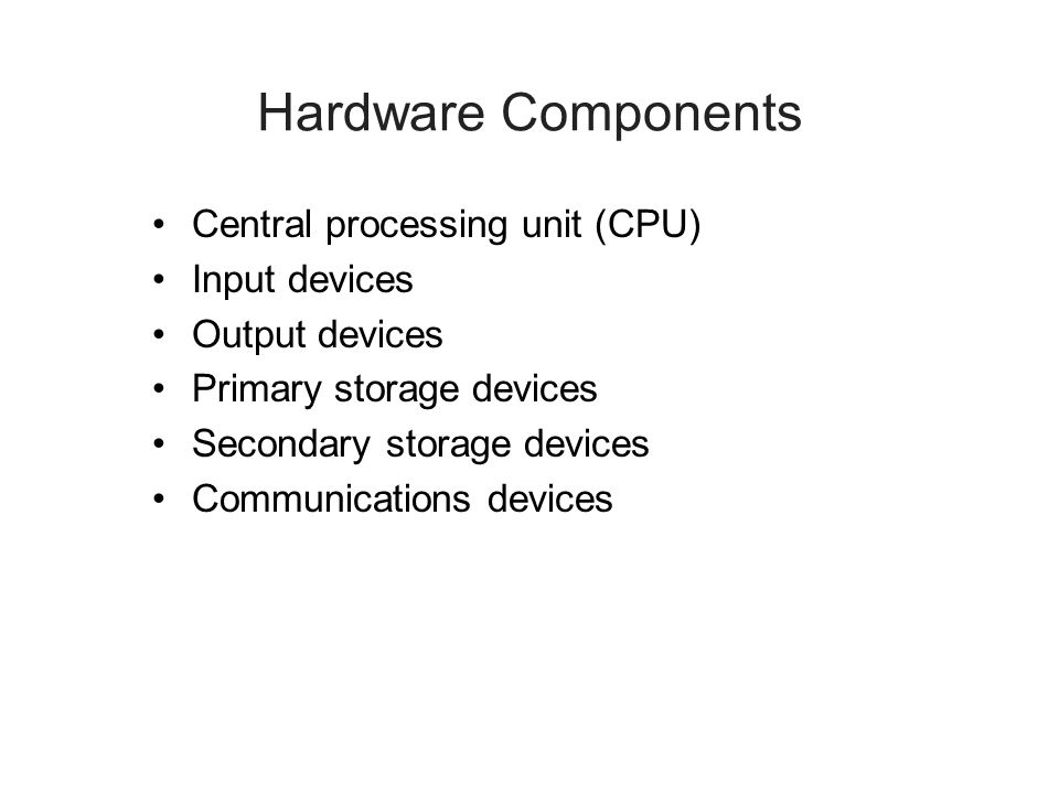 Computer System Types (continued) Workstations