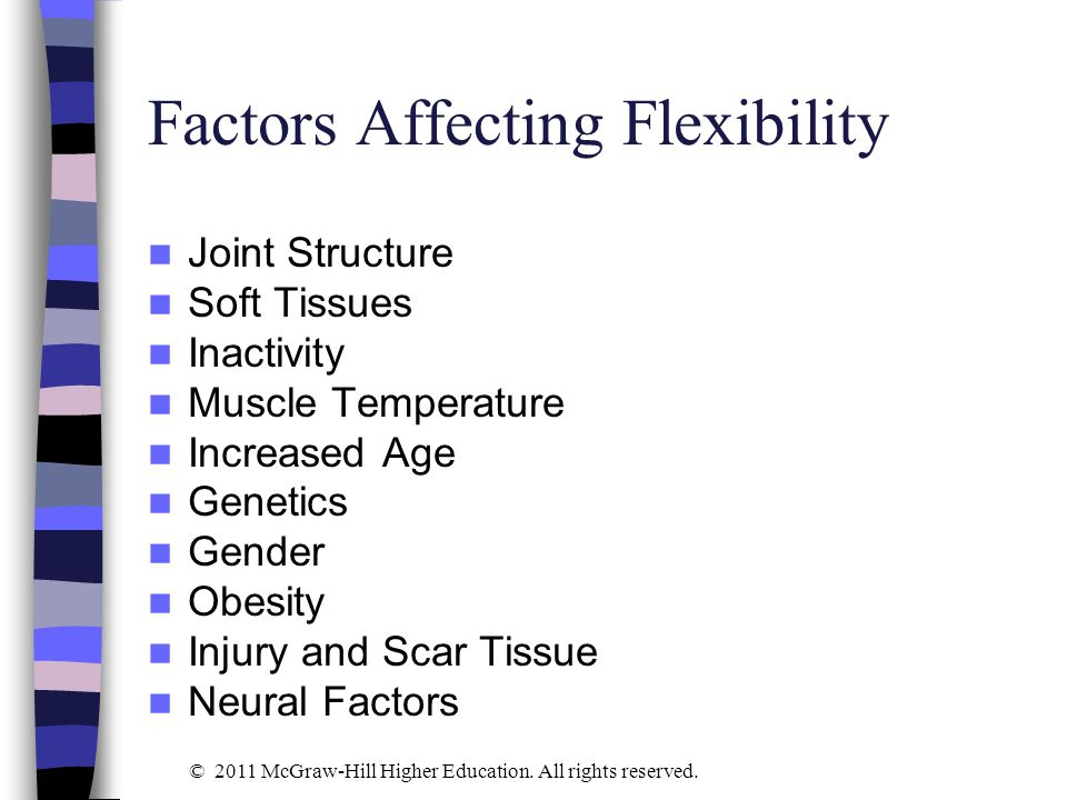 Flexibility Exercises Figure 5-1 © 2011 McGraw-Hill Higher Education. All rights reserved.