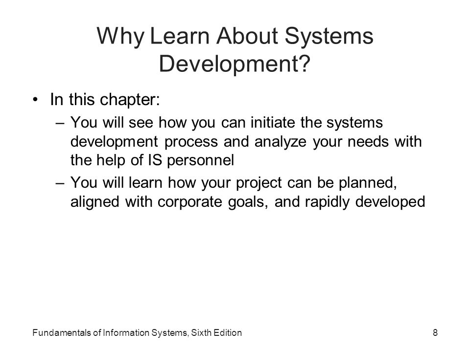 Fundamentals of Information Systems, Sixth Edition19