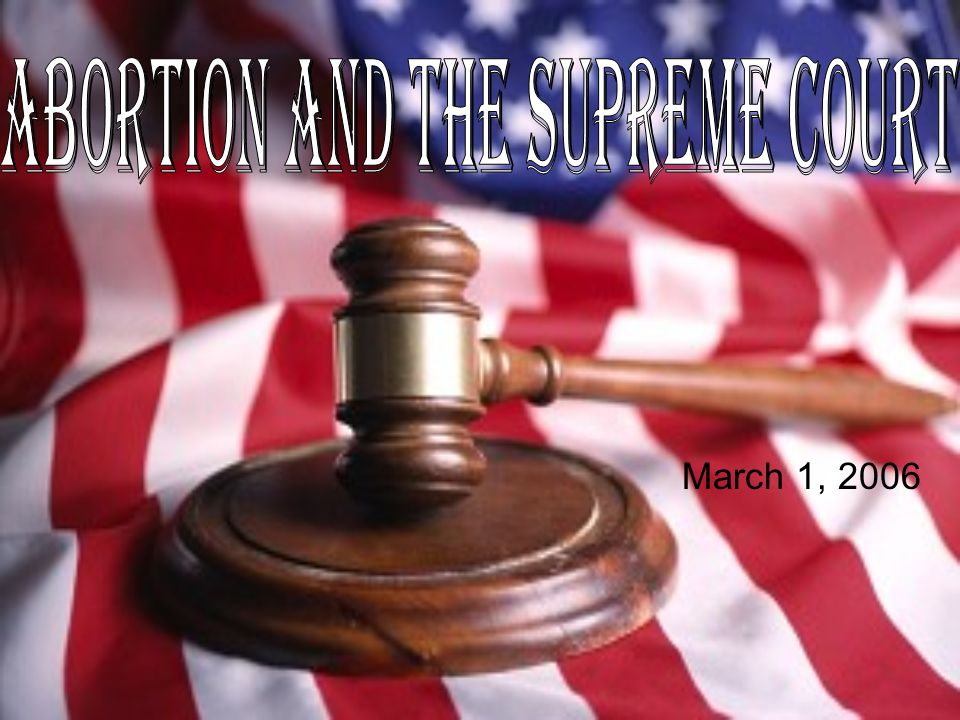 The question The Court will answer: – Whether, notwithstanding Congress's determination that a health exception was unnecessary to preserve the health of the mother, the Partial-Birth Abortion Ban Act of 2003 is invalid because it lacks a health exception or is otherwise unconstitutional on its face.