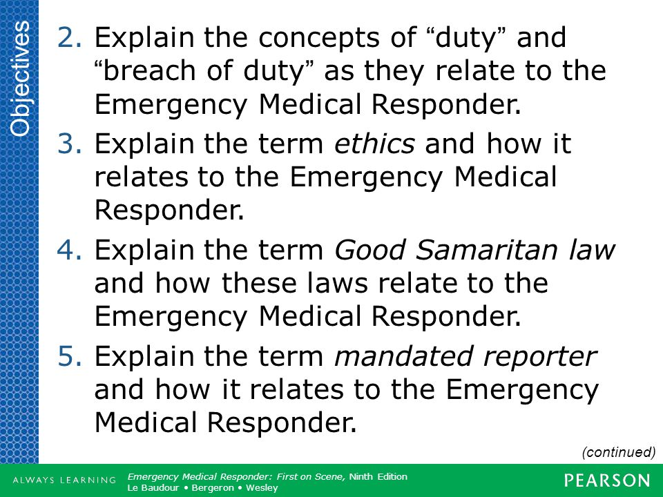 Copyright ©2012 by Pearson Education, Inc. All rights reserved. Emergency Care, Twelfth Edition Daniel J. Limmer O'Keefe Grant Murray Bergeron Dickins