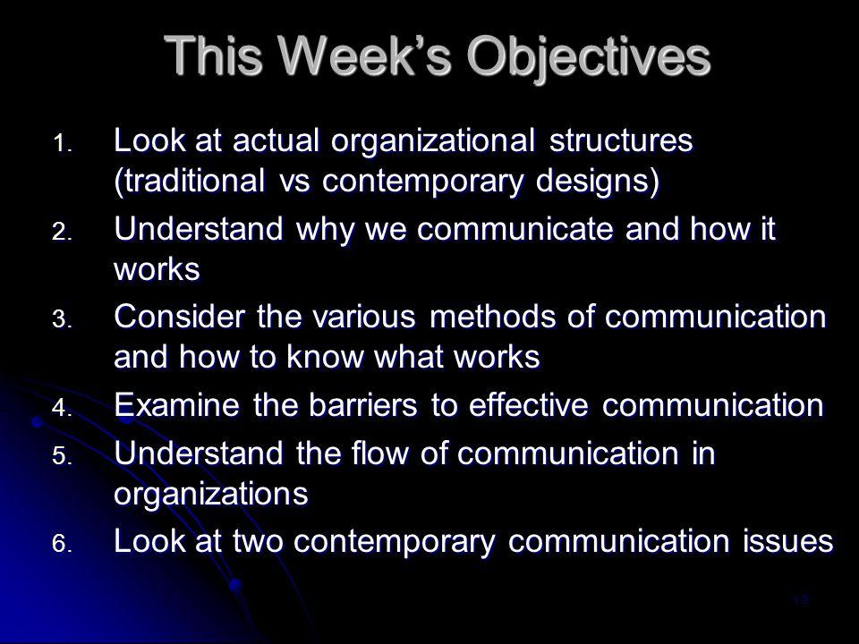 Organizational Structures 1-3