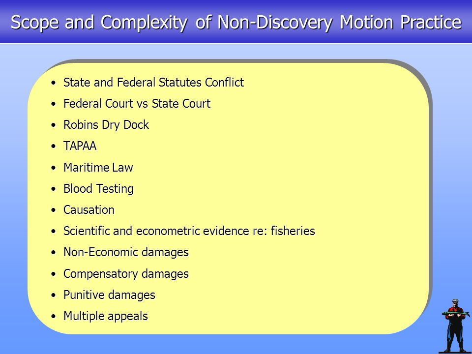 Mar 18: Exxon motion for judgment.