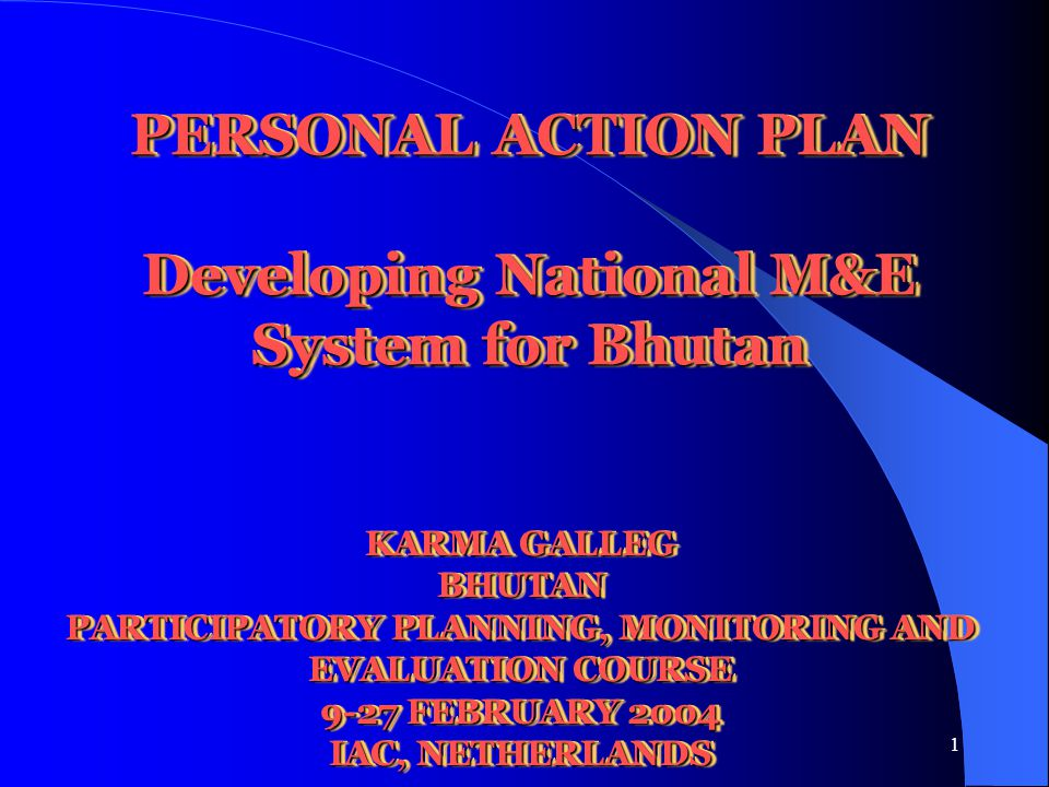 2 1.Learning Objectives & Key Lessons Learnt 2.M&E Project objectives, stakeholders, constraints & strategies for problem solving 3.M&E Project objective hierarchy, OVIs, & MOVs 4.Risks & Assumptions 5.Workplan Outline