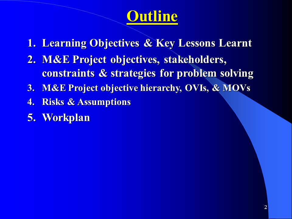 Learning Goals & Key Lessons Learnt My Learning GoalsKey Lessons LearntGoals Achieved.