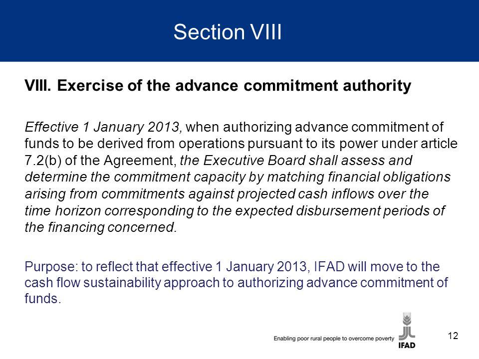Section VIII VIII.