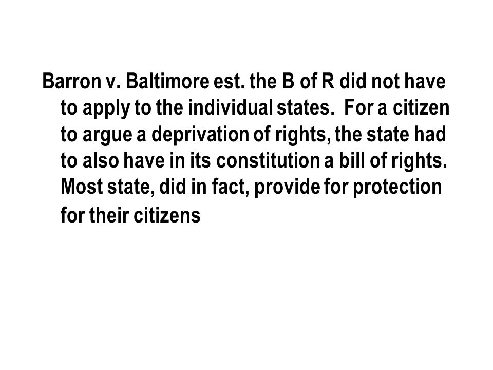 3) The Supreme Court decision Gitlow v.New York established the principle that a.