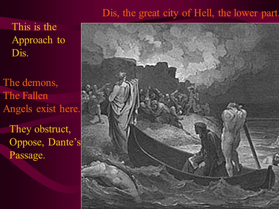 Dis, the great city of Hell, the lower part. This is the Approach to Dis.