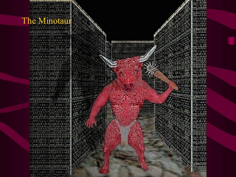 Minotaur on the shattered Cliff.