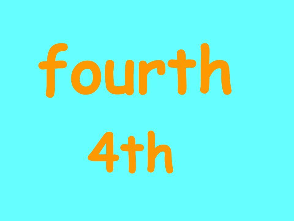 fourth 4th