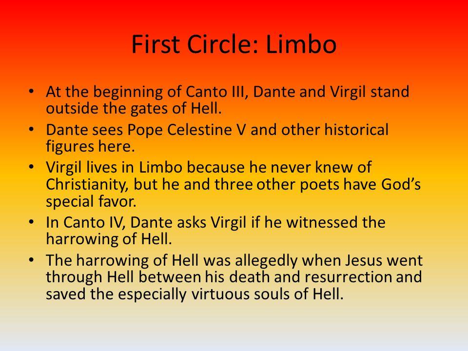 Ninth Circle: Betrayal The Ninth Circle is divided into four parts: Caina, Antenora, Ptolomea, and Judecca.