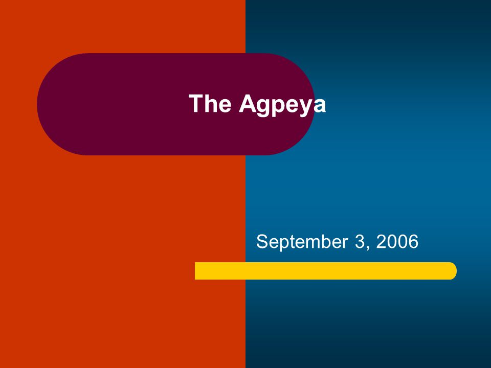 The Agpeya September 3, 2006