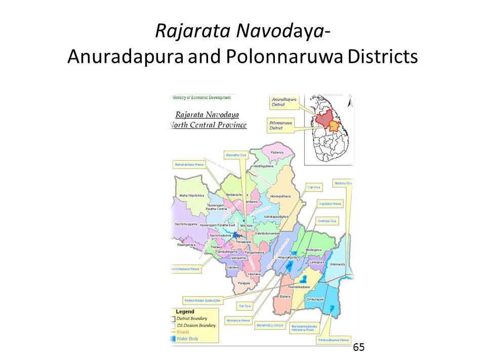 Rajarata Navodaya- Anuradapura and Polonnaruwa Districts 65