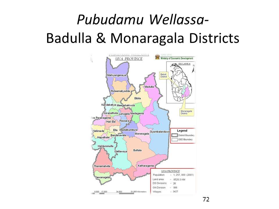 Pubudamu Wellassa- Badulla & Monaragala Districts 72