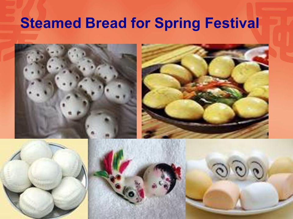 Steamed Bread for Spring Festival