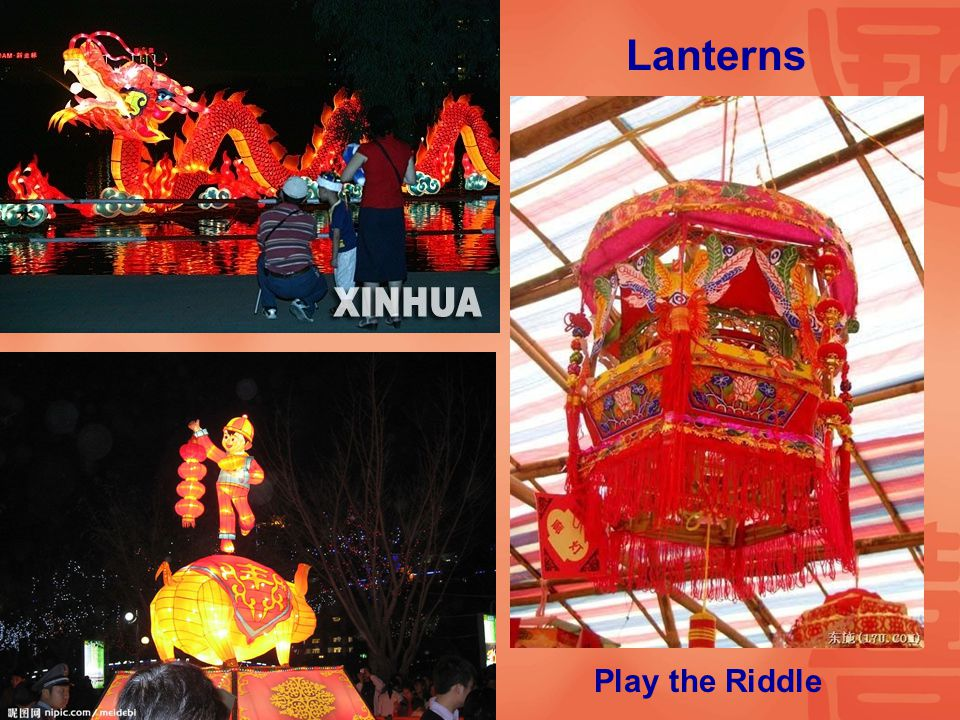 Lanterns Play the Riddle