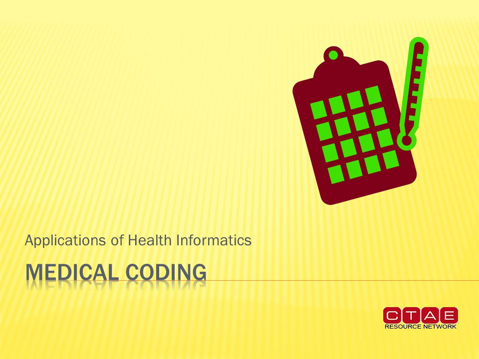 Applications of Health Informatics