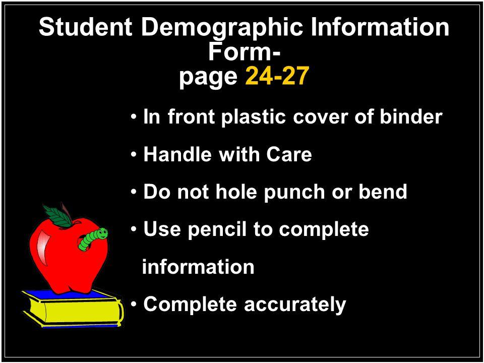 Student ID LEA #