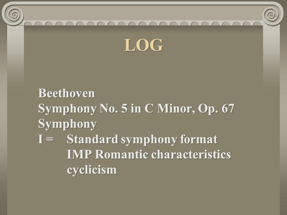 LOG Beethoven Symphony No.5 in C Minor, Op.