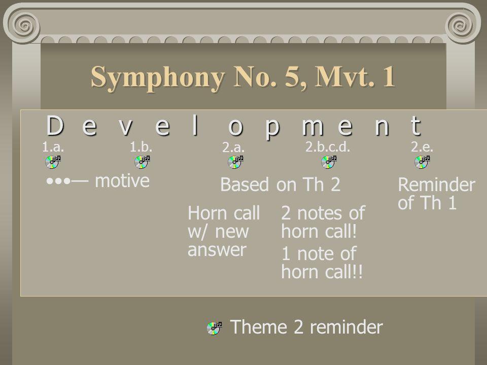 Symphony No.5, Mvt.