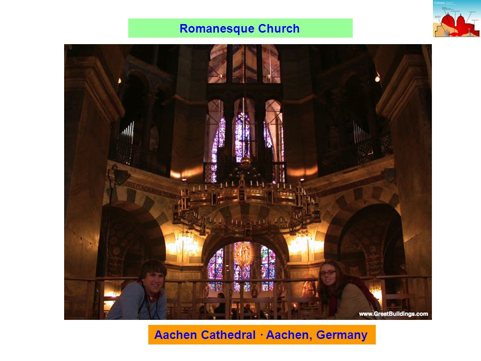 Romanesque Church Aachen Cathedral · Aachen, Germany