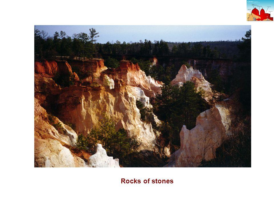 Rocks of stones