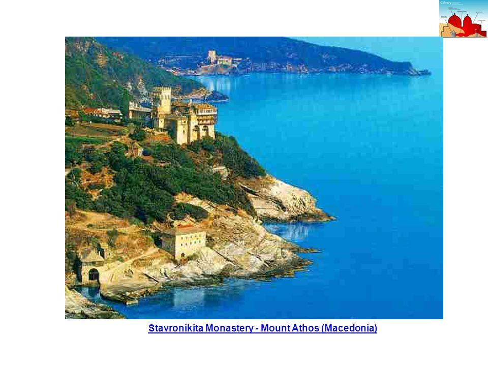 Stavronikita Monastery - Mount Athos (Macedonia)