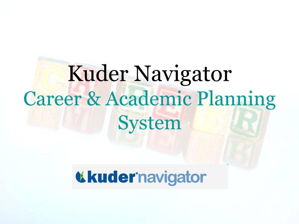 Kuder Navigator Career & Academic Planning System
