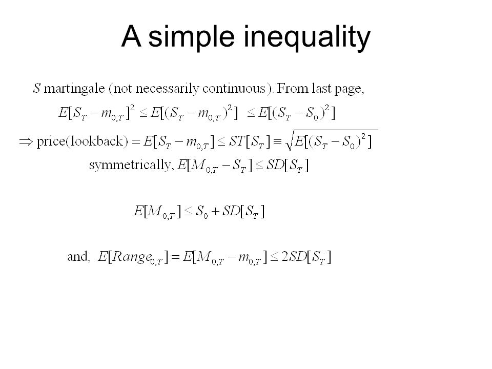 A simple inequality