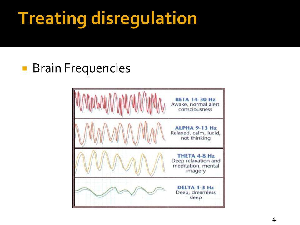 Treating disregulation  Brain Frequencies 4