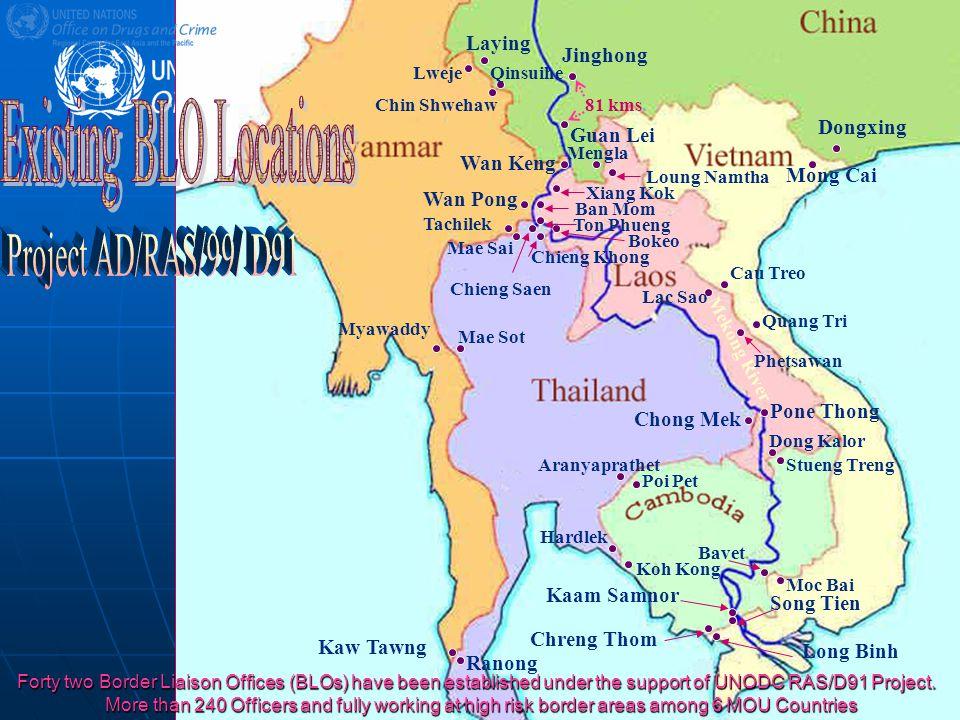 AD/RAS/99/D91 Jinghong Guan Lei 81 kms.