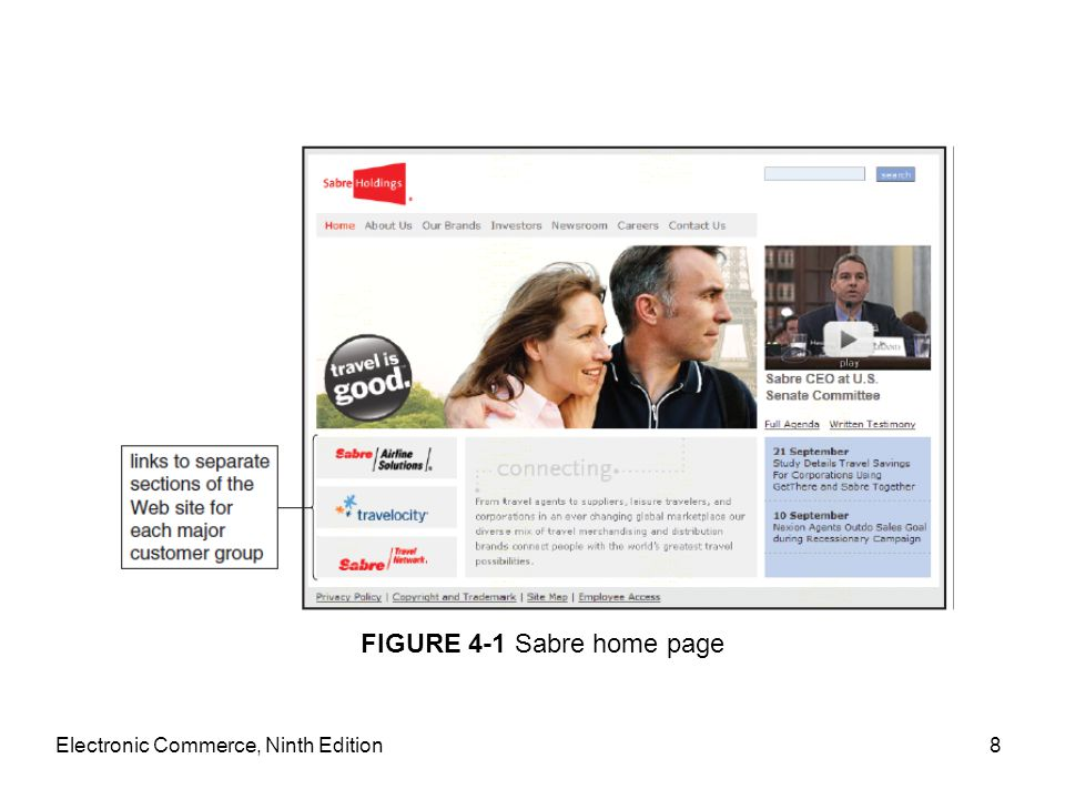 Affiliate Marketing Strategies Affiliate marketing –One firm's Web site (affiliate site) Includes descriptions, reviews, ratings, other information about a product linked to another firm's site (offers item for sale) –Affiliate site receives commission For every visitor following link from affiliate's site to seller's site –Affiliate saves expenses Handling inventory, advertising and promoting product, transaction processing Electronic Commerce, Ninth Edition69