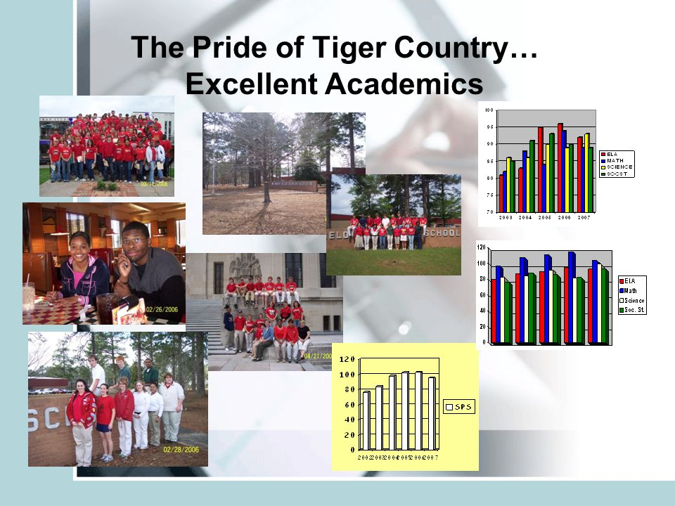 The Pride of Tiger Country… Excellent Academics