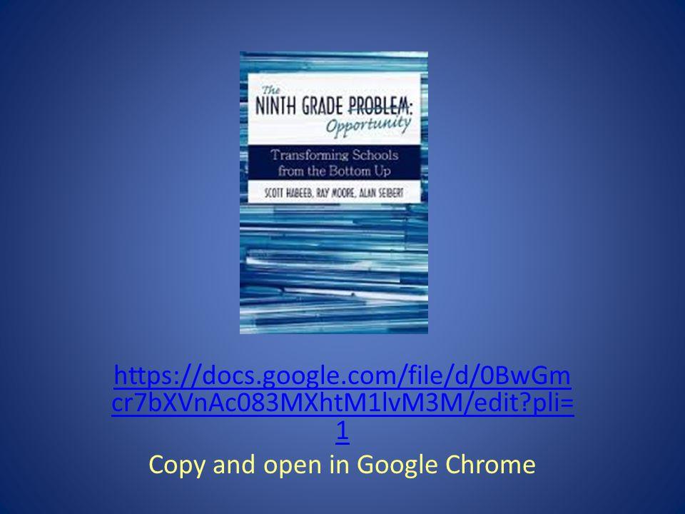 https://docs.google.com/file/d/0BwGm cr7bXVnAc083MXhtM1lvM3M/edit pli= 1 Copy and open in Google Chrome