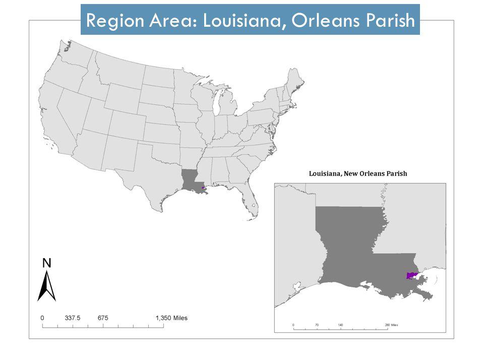 Region Area: Louisiana, Orleans Parish