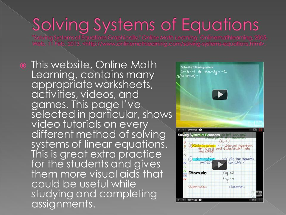  This website, Online Math Learning, contains many appropriate worksheets, activities, videos, and games. This page I've selected in particular, show