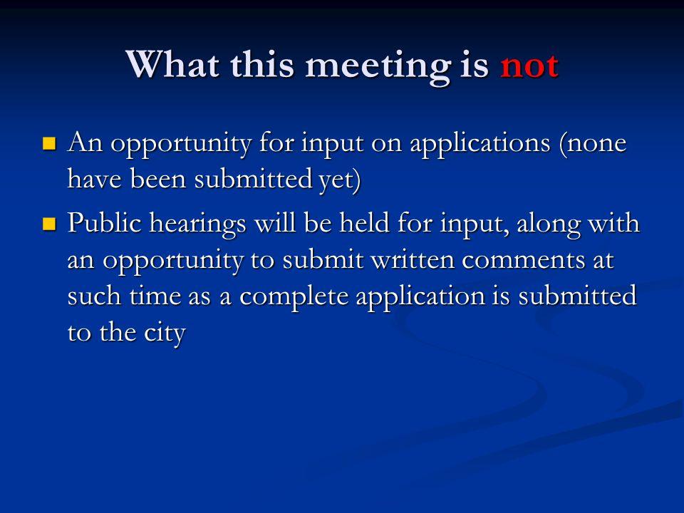 Annexation Proposals 1.