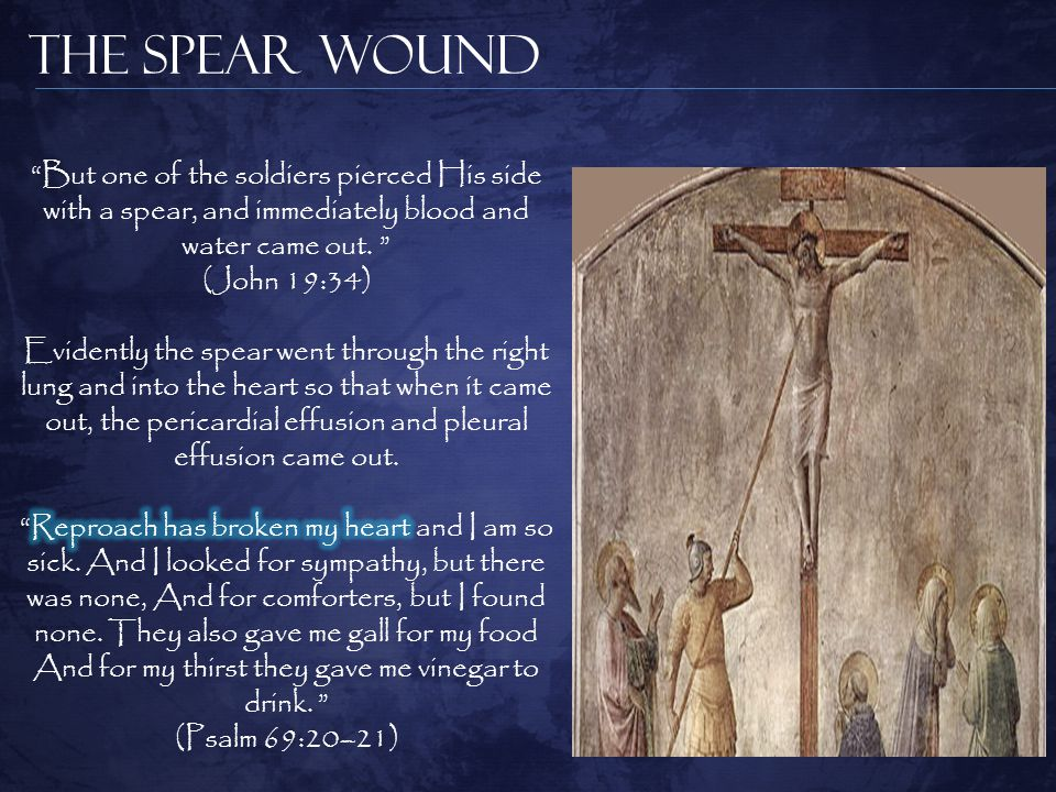 The Spear Wound