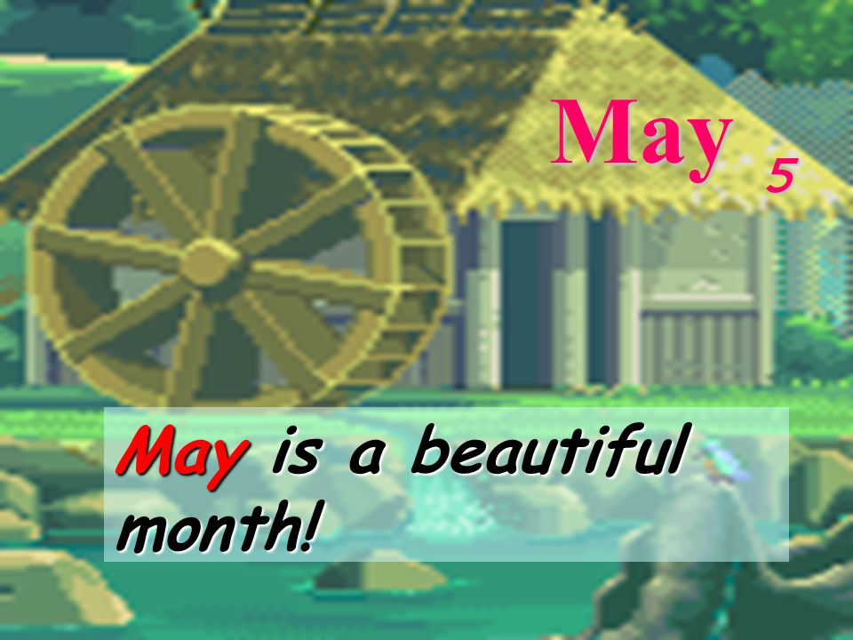 8 April 4 April is the fourth month. April is the fourth month.