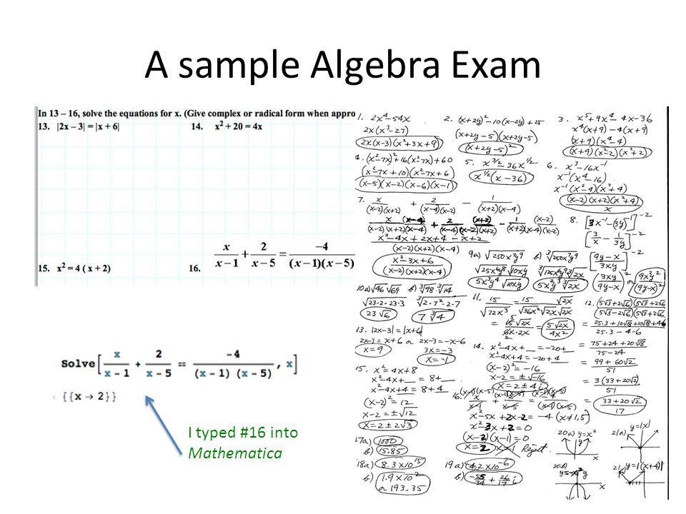 I typed #16 into Mathematica