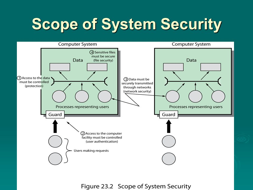 Scope of System Security