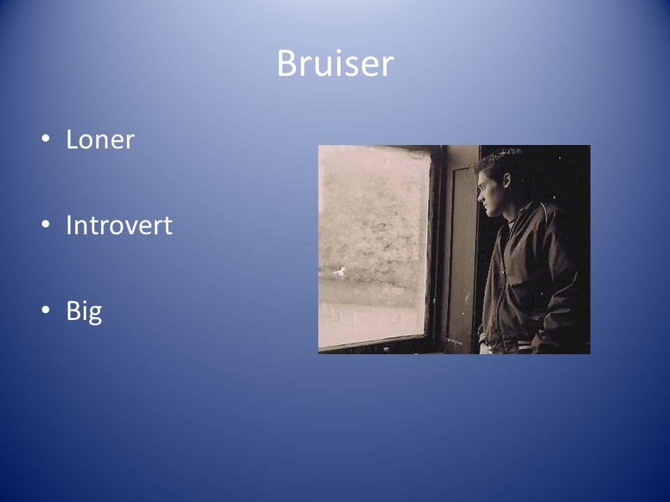 Bruiser Loner Introvert Big