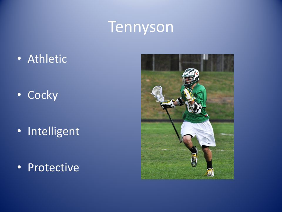 Tennyson Athletic Cocky Intelligent Protective