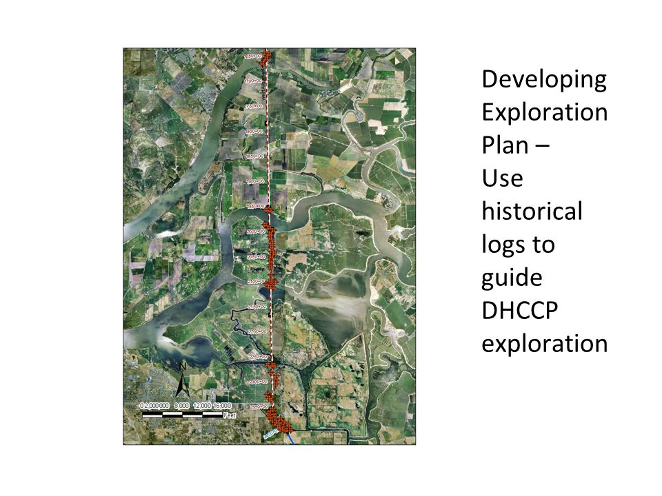 Developing Exploration Plan – Use historical logs to guide DHCCP exploration