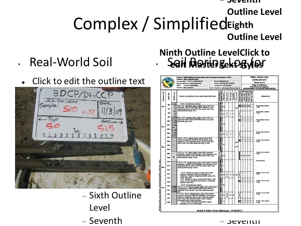 Click to edit the outline text format Second Outline Level  Third Outline Level Fourth Outline Level  Fifth Outline Level  Sixth Outline Level  Seventh Outline Level  Eighth Outline Level Ninth Outline LevelClick to edit Master text styles Conclusions GINT software, particularly when used in conjunction with other tools, is an effective and reasonably efficient way to augment geotechnical analyses.