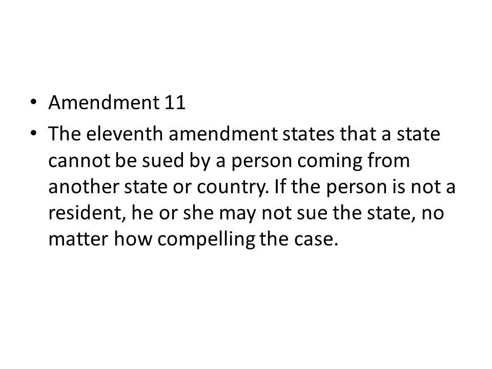 Amendment 12 The twelfth amendment changed the electoral college procedure.