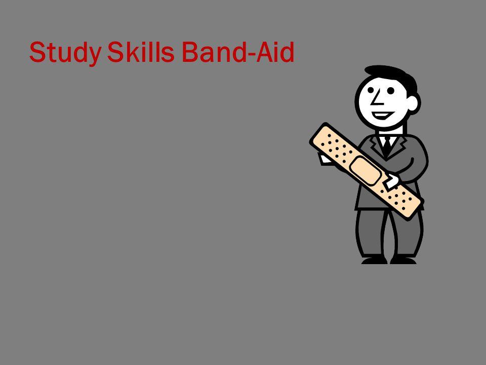 Study Skills Band-Aid