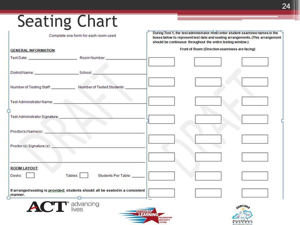 Seating Chart 24