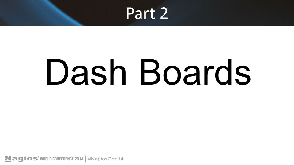 Part 2 Dash Boards