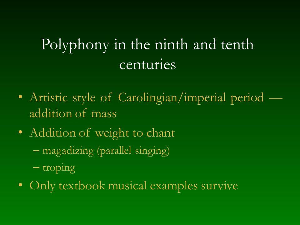 Textbook descriptions of early organum Musica enchiriadis, Scolica enchiriadis (ca.